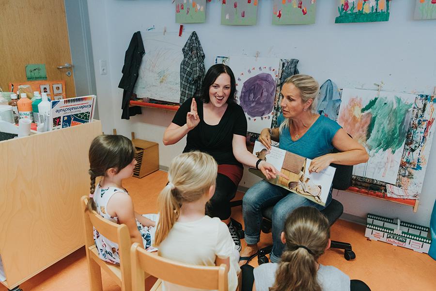 Kindergarten Dolmetschen Gebärdensprache